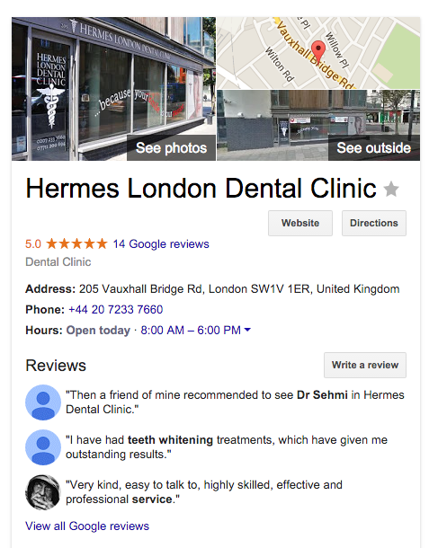 Hermes London Dental Clinic