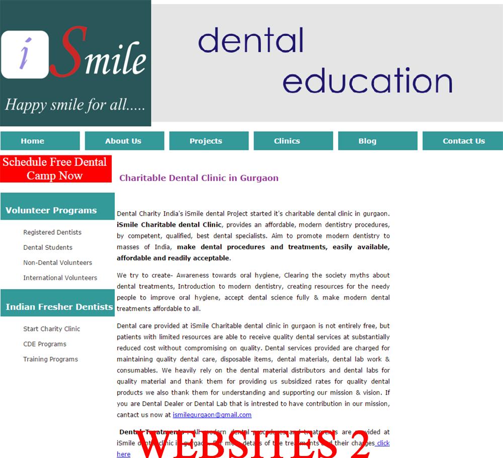 webiste phong kham nha khoa